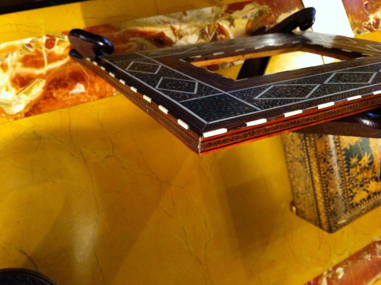 Anglo-Indian Inlaid Frame For Sale 5
