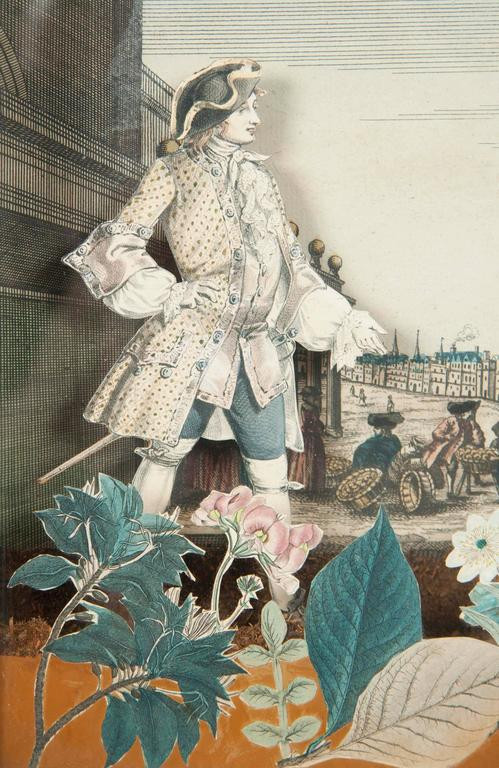18th Century French Diorama, Christ Church, Oxford For Sale 5