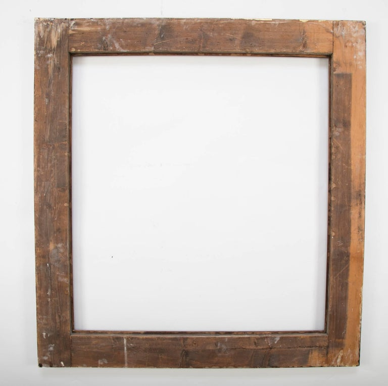 Italian Giltwood Mirror Frame, Large-Scale For Sale 1