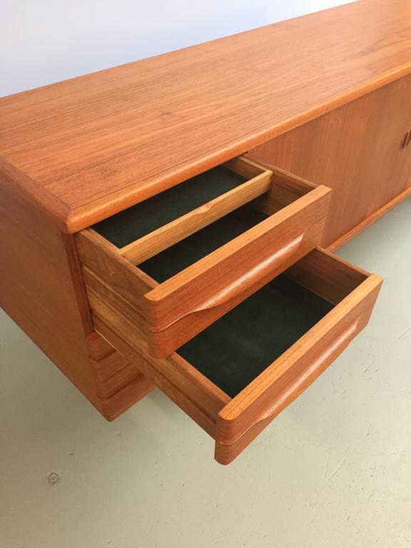 Mid-20th Century Sideboard in Teak by Johannes Andersen for Uldum Mobelfabrik For Sale
