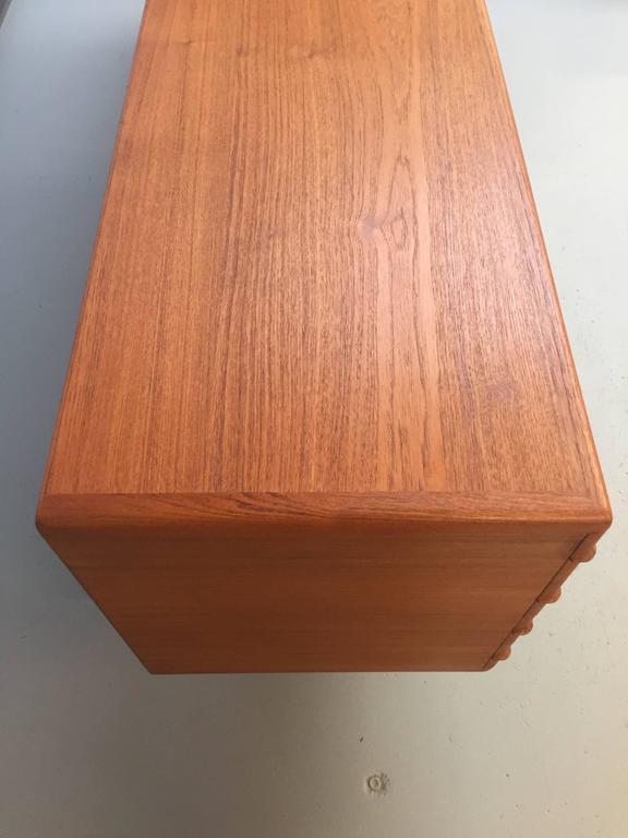 Wood Sideboard in Teak by Johannes Andersen for Uldum Mobelfabrik For Sale