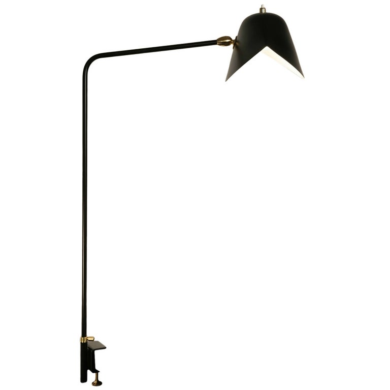 Serge Mouille Agrafee desk lamp, new reissue, offered by Gueridon