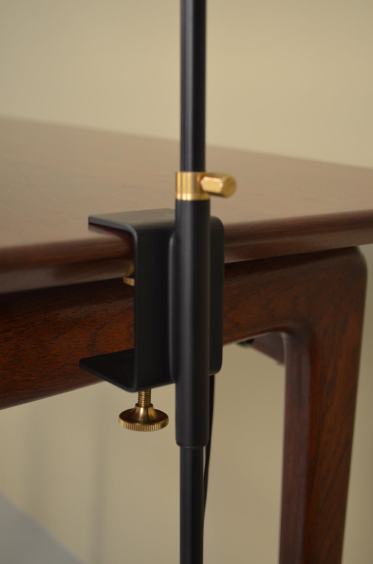 French Agrafee Desk Lamp by Serge Mouille For Sale