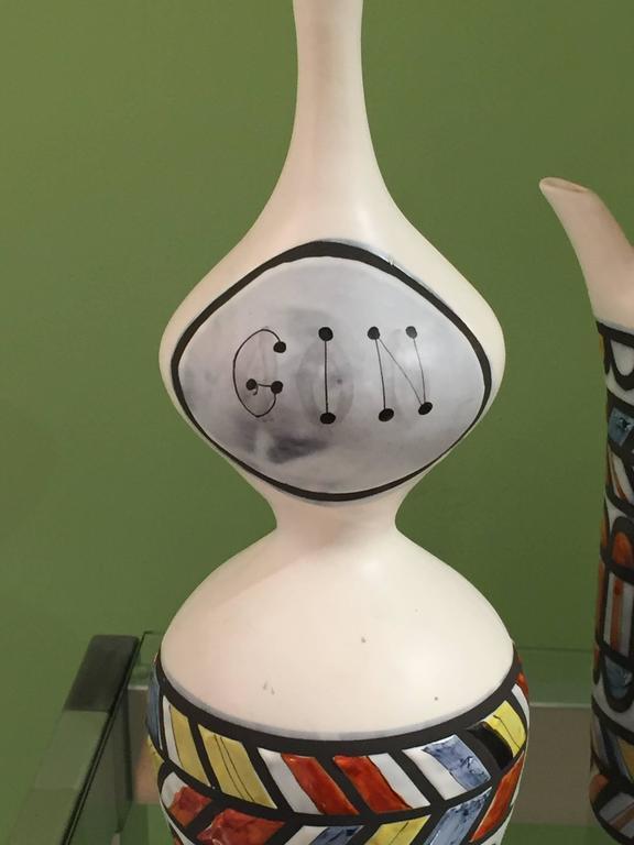 Vintage Ceramic Pitchers by Roger Capron 2