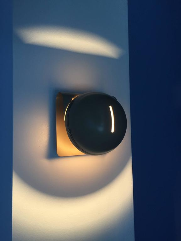 Enameled Wall Sconce by Guiseppe Cormio for Guzzini For Sale