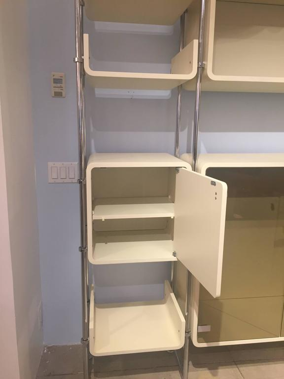 Mid-Century Modern Modular Shelving Unit For Sale