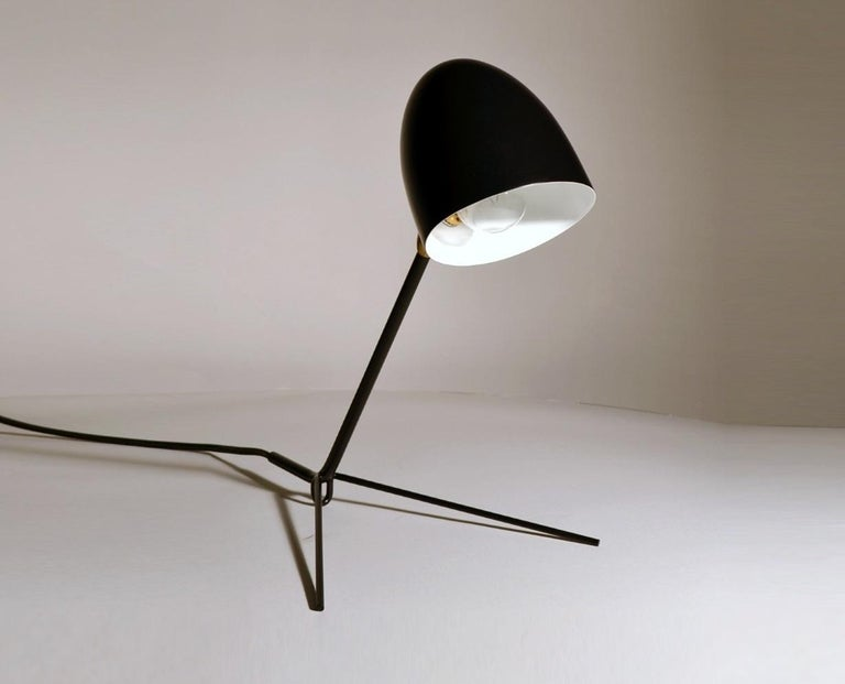 Mid-Century Modern Serge Mouille Cocotte Desk Lamp For Sale
