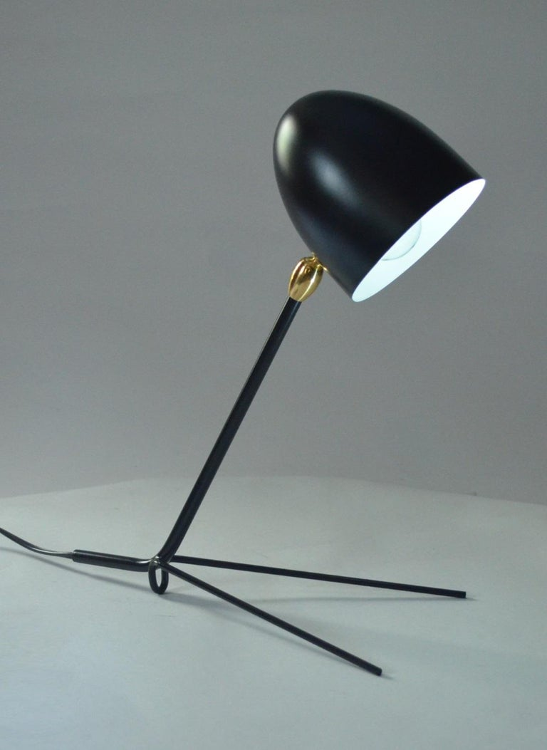French Serge Mouille Cocotte Desk Lamp For Sale