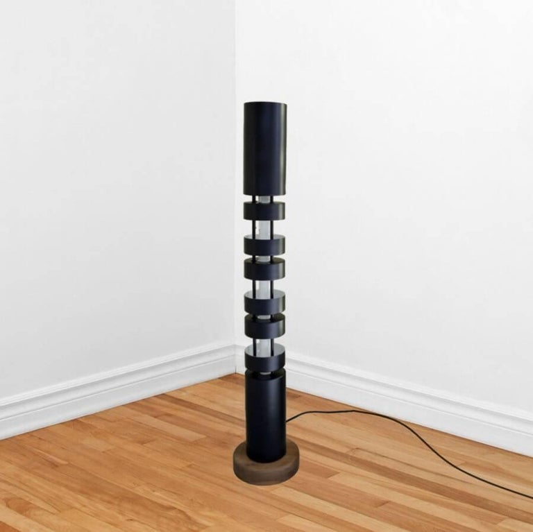 Small totem floor lamp by serge mouille for sale at 1stdibs Serge mouille three arm floor lamp