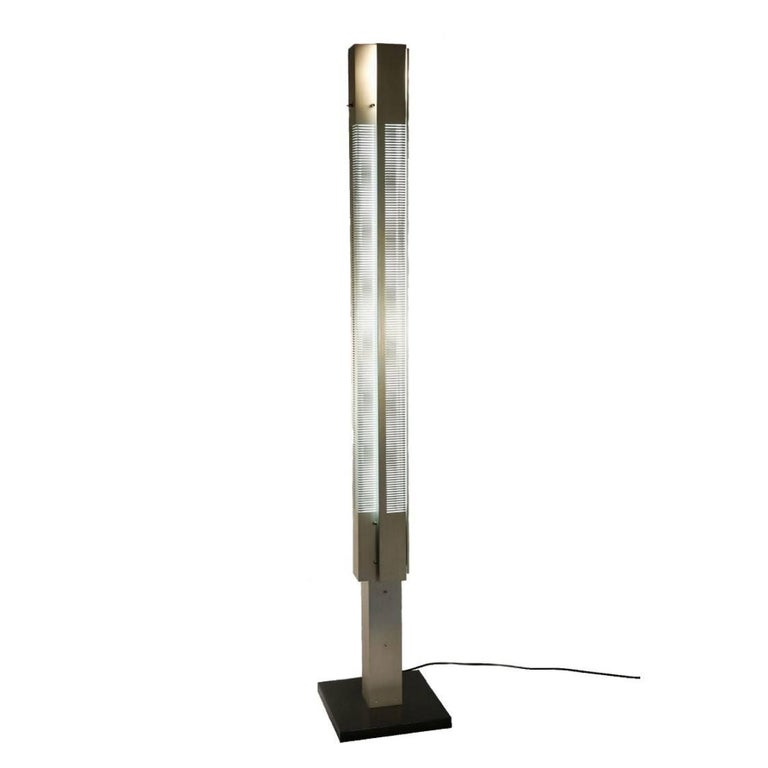 French Medium Signal Floor Lamp by Serge Mouille For Sale