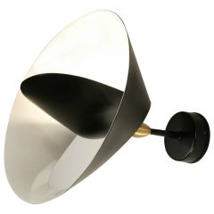 Saturne Sconce by Serge Mouille