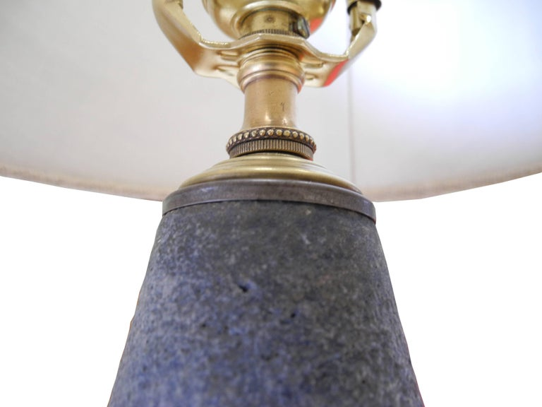 Mid-Century Modern Bitossi Ceramic Table Lamp from Italy, 1950s For Sale 1