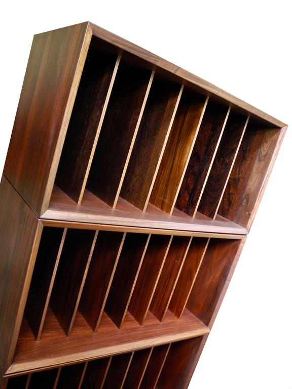 Rosewood Cado System Wall Unit For Book Shelving And