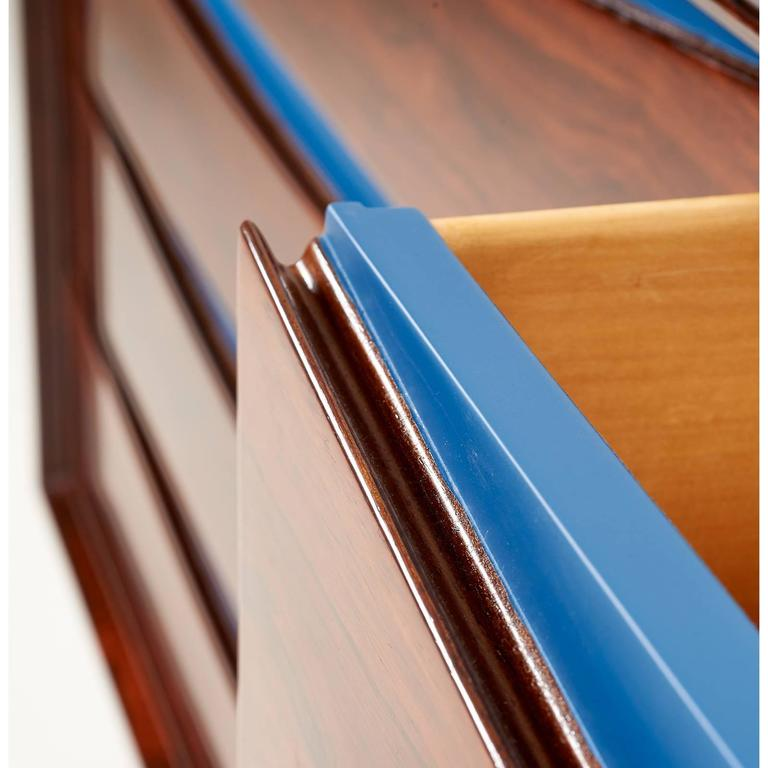 Oiled Triennale Rosewood Eight Drawer Double Chest by Arne Vodder for Sibast