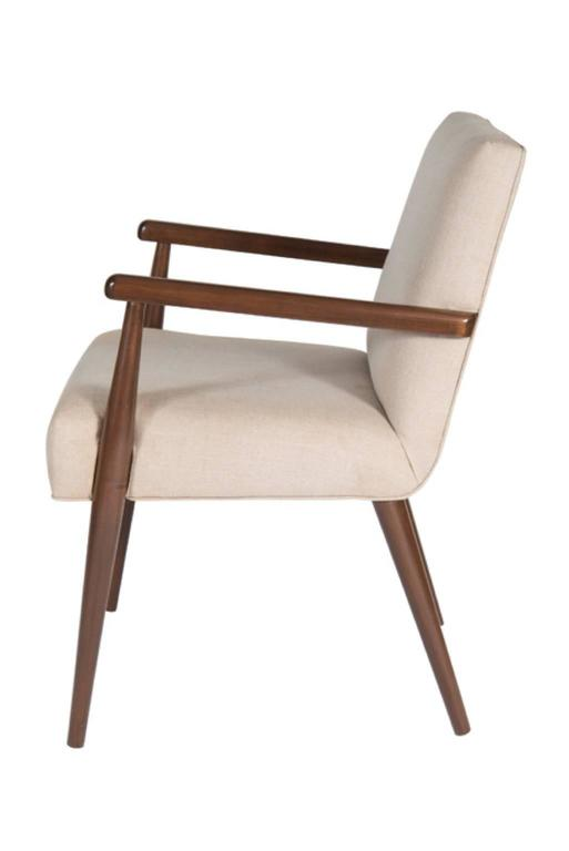 Sheppard Dowel Leg Arm Dining Chair 3