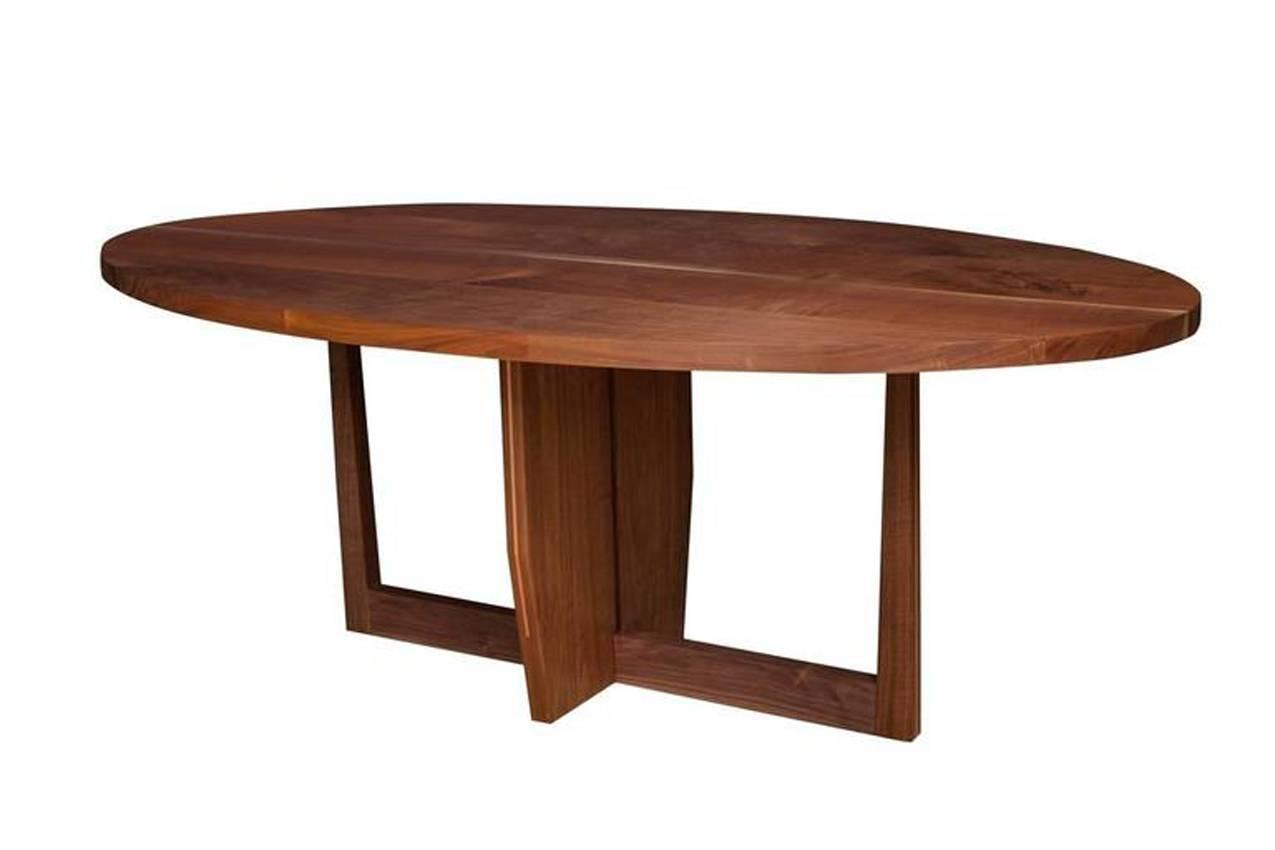 Stillmade walnut dining table for sale at 1stdibs for Most beautiful dining room tables