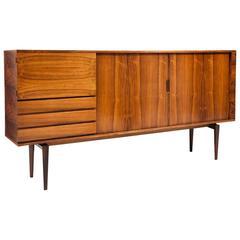 H.W. Klein Rosewood Tamboured Door Console