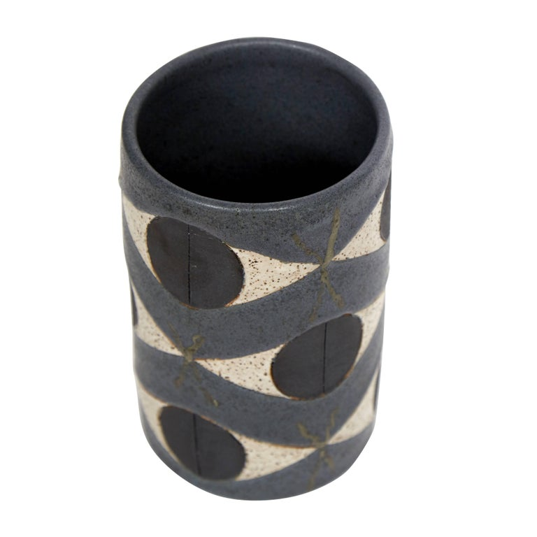 Mid-Century Modern Matthew Ward TOTEM Vase For Sale