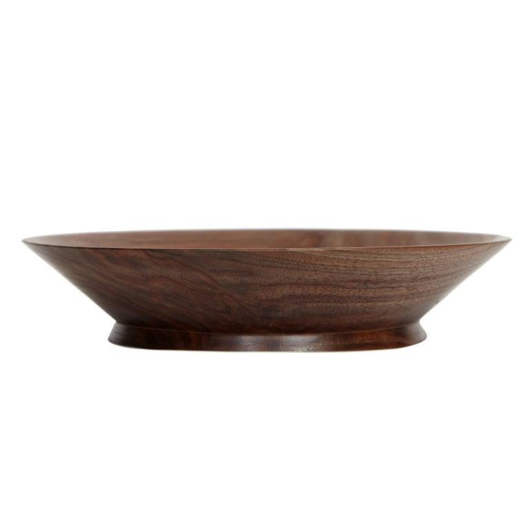 KLOTZWRK Solid Walnut Lathe Turned Bowl