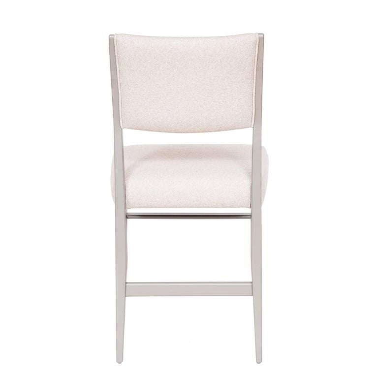 Set of Eight Maze Lacquered Dining Chairs In Excellent Condition For Sale In New York, NY