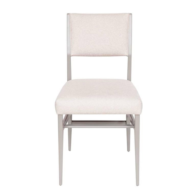 Lacquered dining chair.