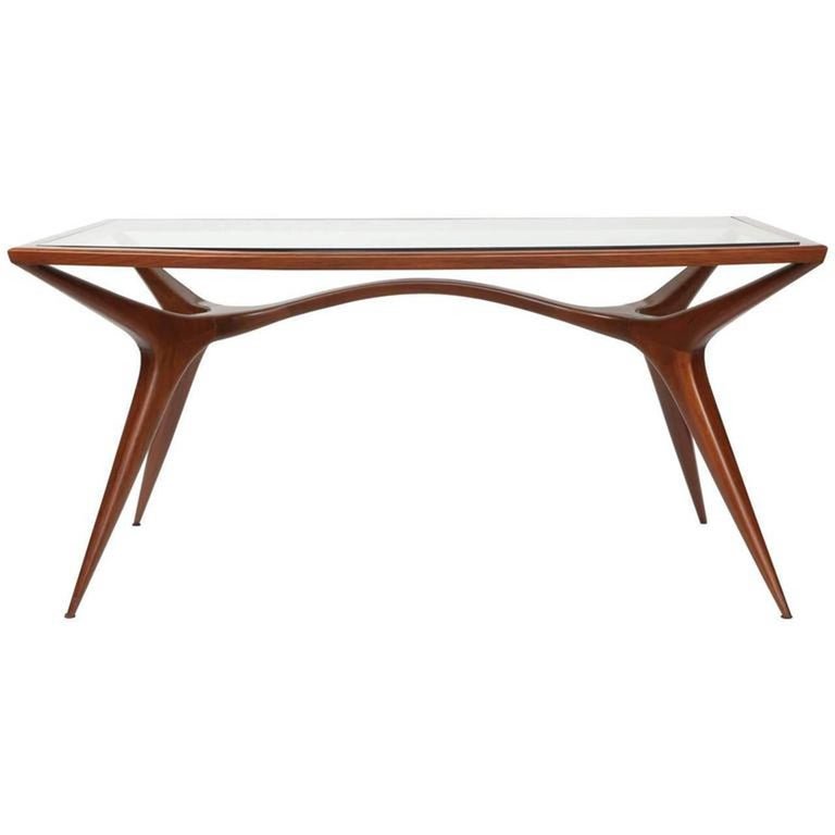 Sculptural Dining Table by Guiseppi Scapinelli