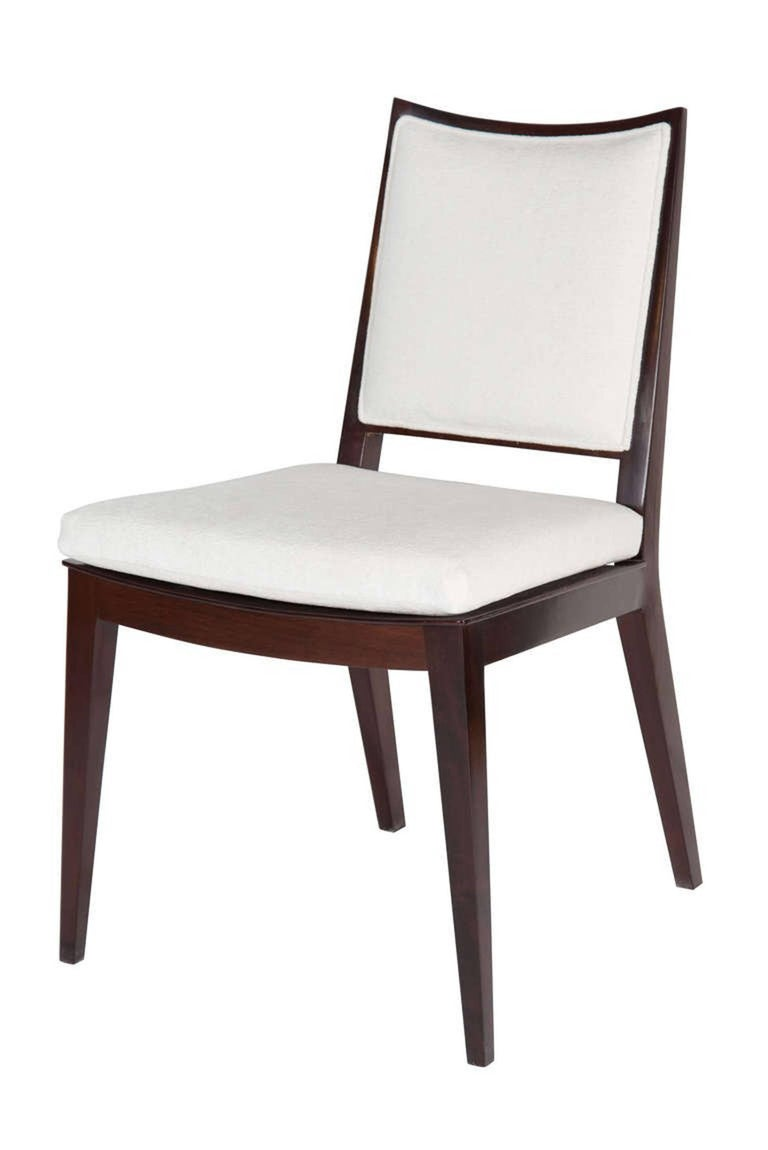 Set of four frame back dining chairs for sale at stdibs