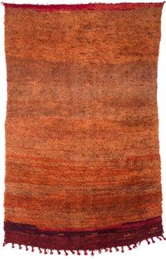 Vintage Moroccan Mrirt Rug