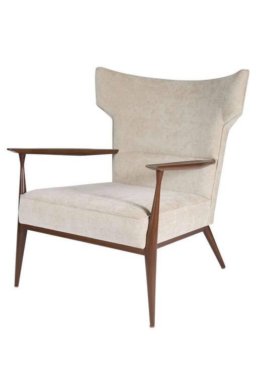 Morris Winged Back Armchair 4