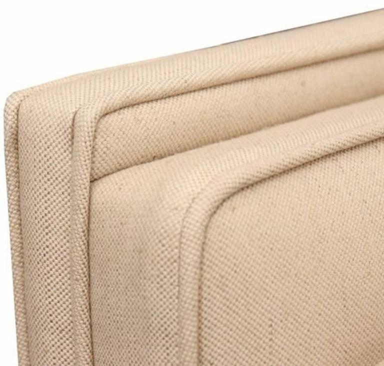 Paul McCobb Directional Sofa on Brass Stretcher Base 2