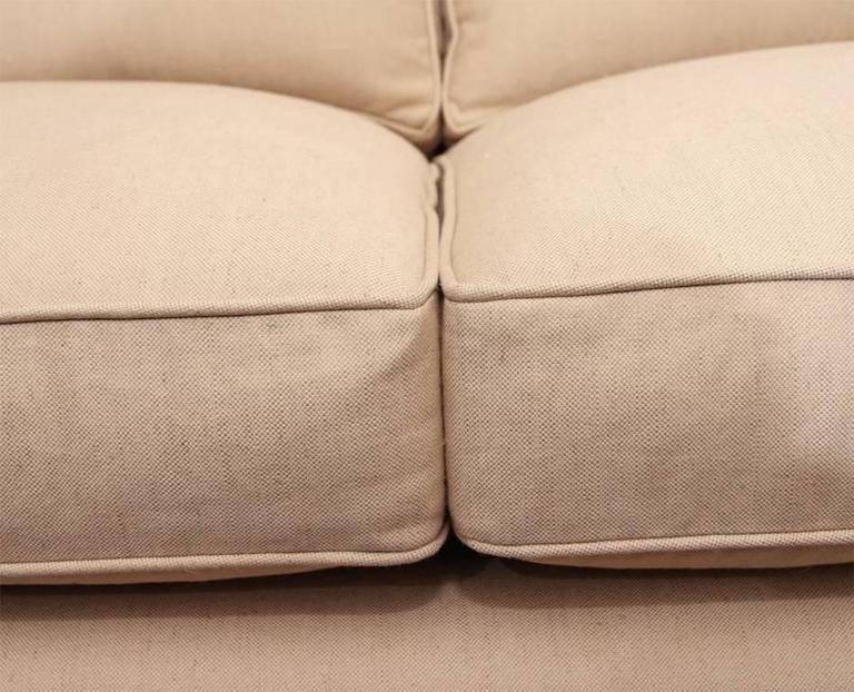Paul McCobb Directional Sofa on Brass Stretcher Base 7