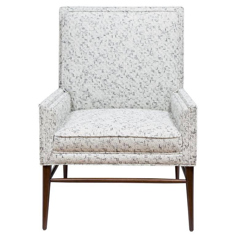 Pair of McIntosh Stepped Arm Armchairs 2