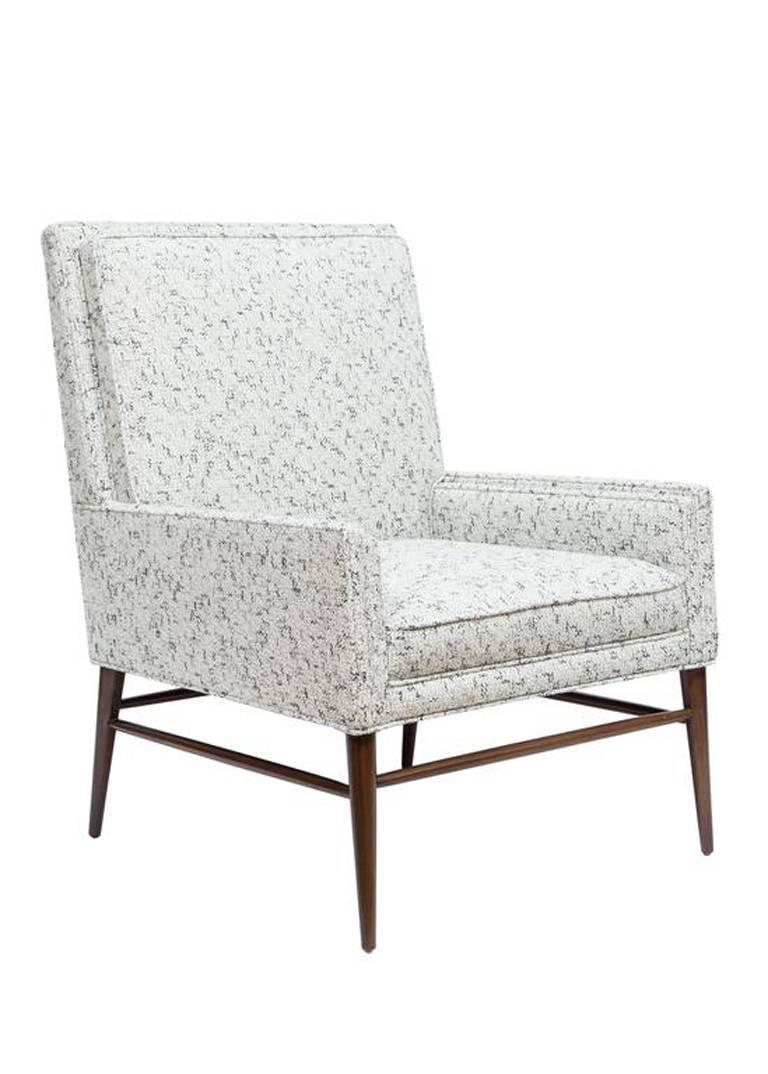 Pair of McIntosh Stepped Arm Armchairs 5