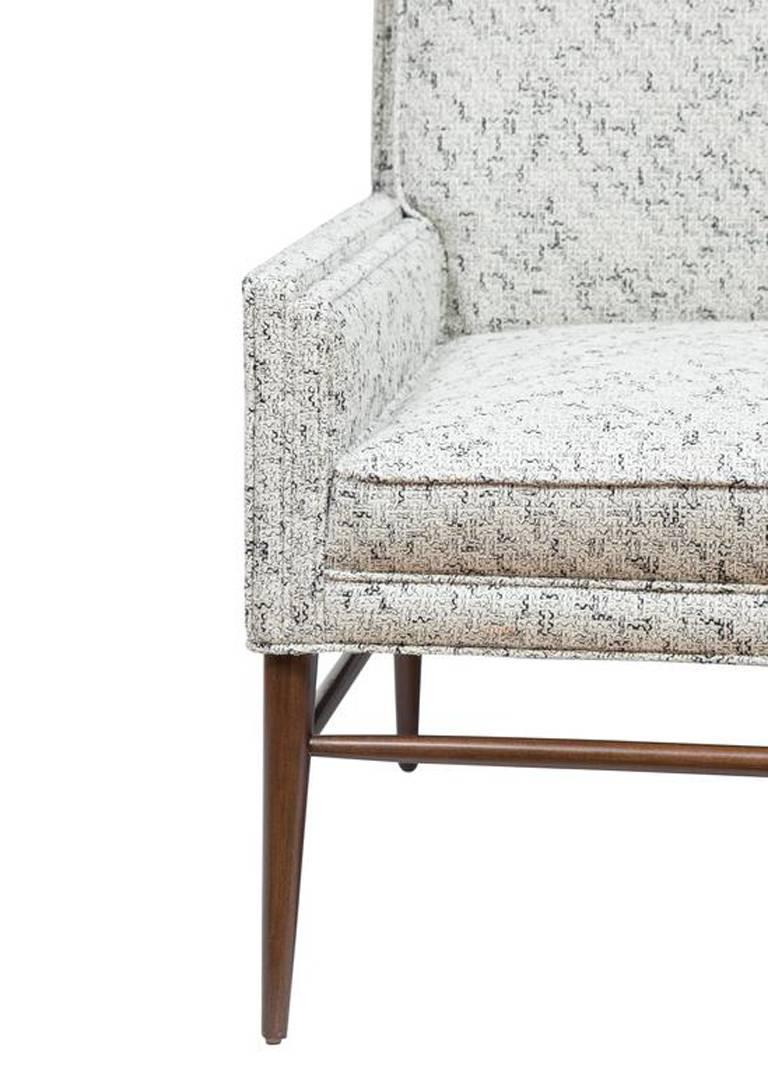 Pair of McIntosh Stepped Arm Armchairs 3