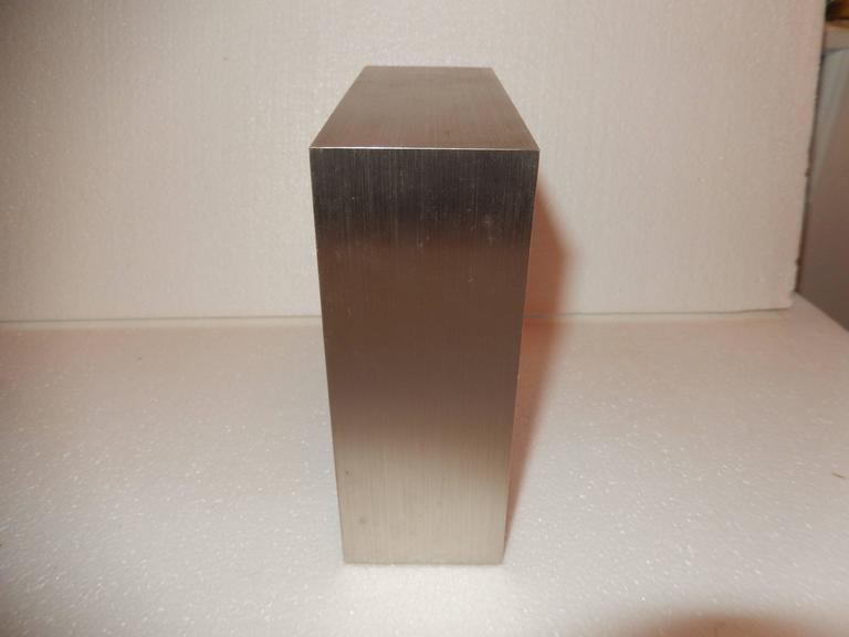 Tiffany Mid Century Steel Case Desk Clock At 1stdibs