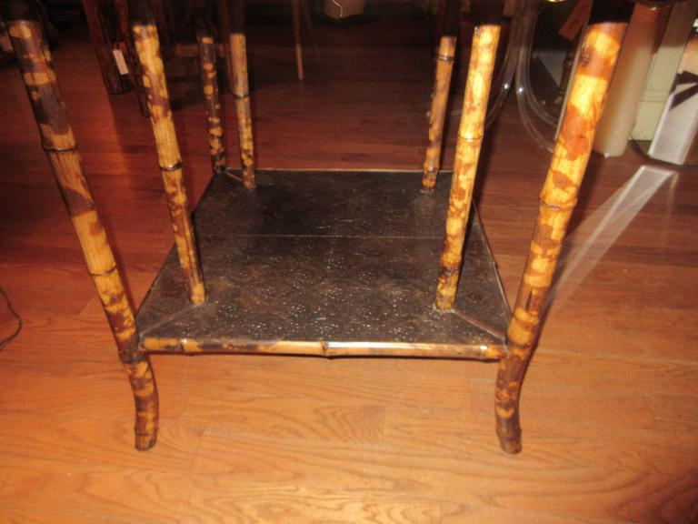 Magnificent Late 19th Century Faux Tortoiseshell and Chinoiserie Center Table 7