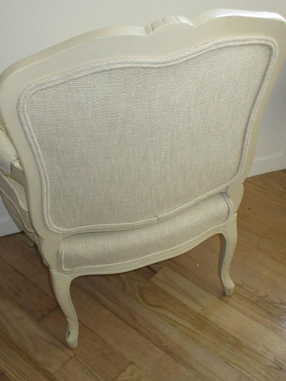 Louis XVI Louis  XV1 Style Armchair by W & J Sloane NY 1843-1985 For Sale