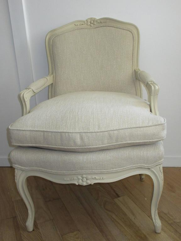 Louis  XV1 Style Armchair by W & J Sloane NY 1843-1985 6