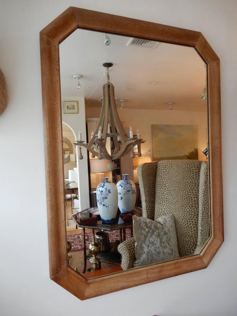 American Colonial Late  1920s  American Oak Wood Wall/Floor  Mirror For Sale