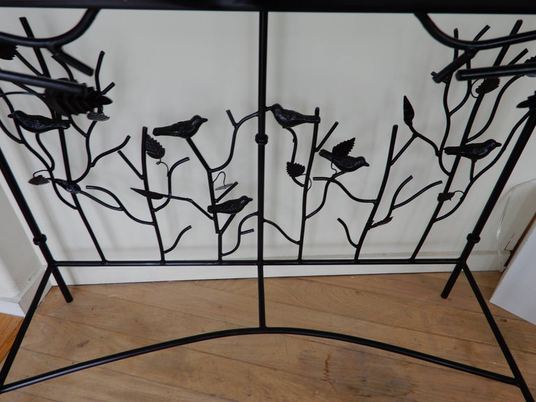 In the Giacometti Style a Studio Crafted Console Table 2