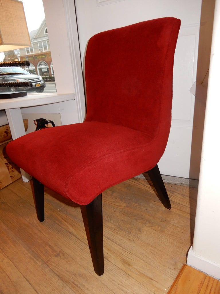 Set of Mid-Century Modern Jens Risom Scoop Chairs for Knoll, 1950s In Excellent Condition For Sale In Bellport, NY