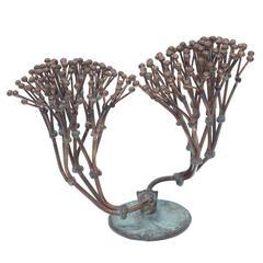 Bronze Harry Bertoia Bush Form Sculpture, Usa, 1970s