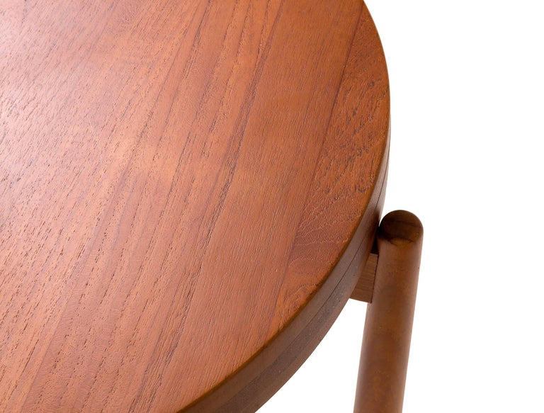 Jens Quistgaard Style Teak Tray Table, Denmark, 1960s For Sale 1