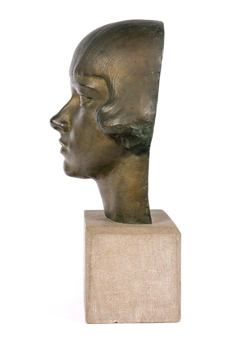 American Gertrude Vanderbilt Whitney Bronze Sculpture