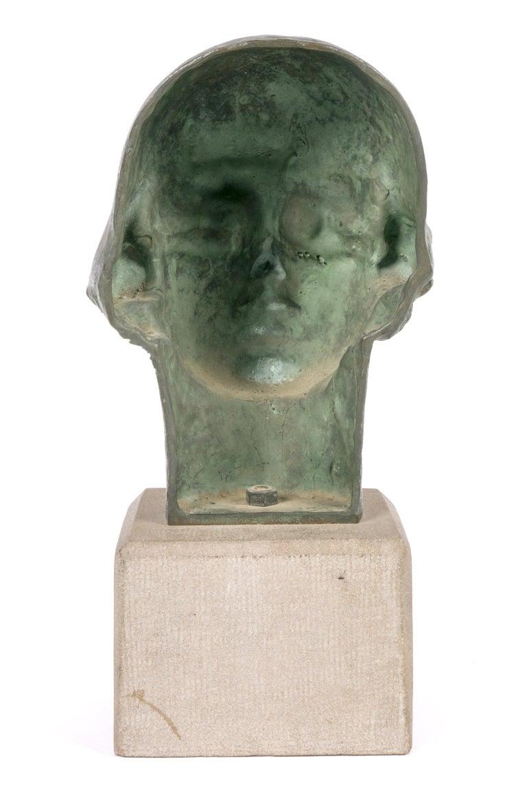 Cast Gertrude Vanderbilt Whitney Bronze Sculpture