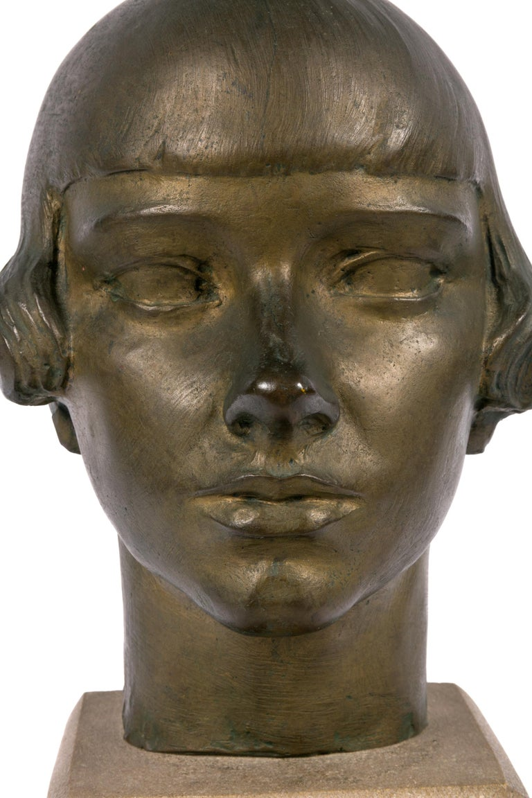 Gertrude Vanderbilt Whitney Bronze Sculpture