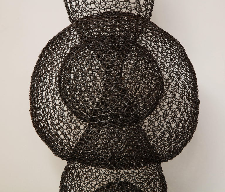 Organic Woven Mesh Wire Sculpture by Ulrikk Dufosse, France, 2017 In New Condition For Sale In New York, NY