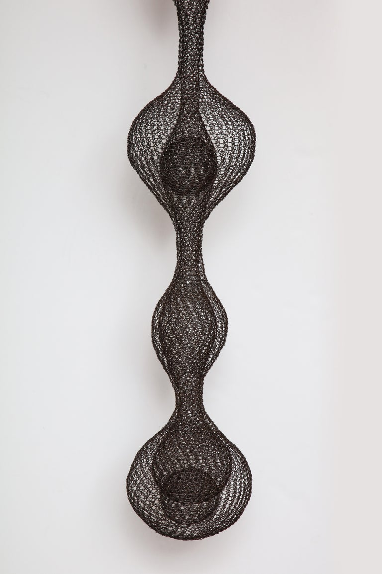 Organic Woven Mesh Wire Sculpture by Ulrikk Dufosse, France, 2016 In New Condition For Sale In New York, NY