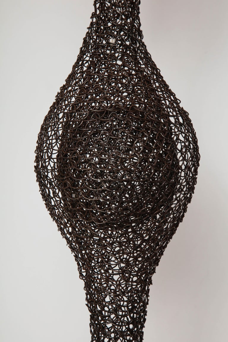 Organic Woven Mesh Wire Sculpture by Ulrikk Dufosse, France, 2016 For Sale 1
