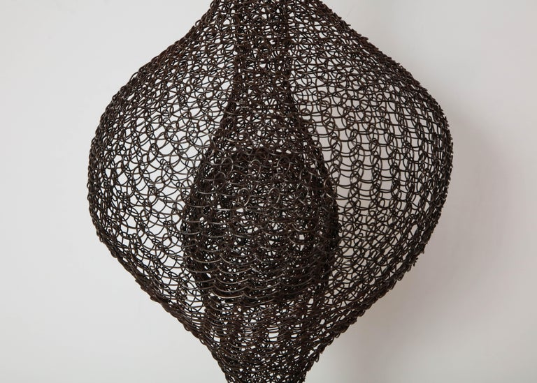 Organic Woven Mesh Wire Sculpture by Ulrikk Dufosse, France, 2016 For Sale 2